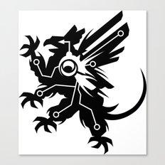 Tech Griffin Canvas Print