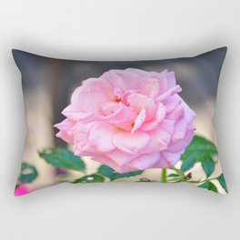 Pink Rose Rectangular Pillow