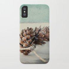 winter moods Slim Case iPhone X