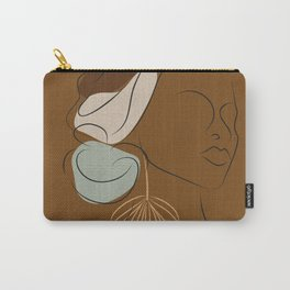 African American woman magic melanin beauty  Carry-All Pouch