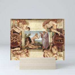 "Michelangelo ""Creation of Eve"" Mini Art Print"