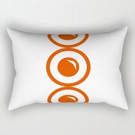 Circle chain Rectangular Pillow
