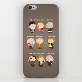 science for nerds  iPhone Skin