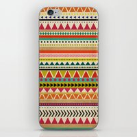 aztec iPhone & iPod Skins featuring  AZTEC by Allyson Johnson