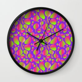 Psychedelic Lava Lamp Wall Clock
