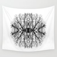 scary Wall Tapestries featuring Scary trees are scary by Pietro Bellini
