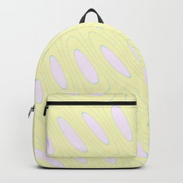 Geo Flow Yellow Pink Backpack