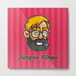 Jurgen Klopp Metal Print