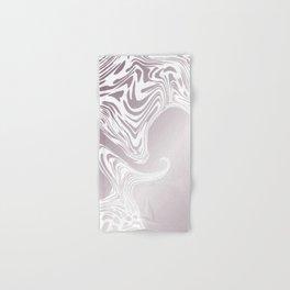 Rose Gold Liquid Marble Effect Design Hand & Bath Towel