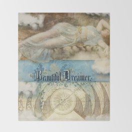 Beautiful Dreamer Throw Blanket
