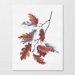 Autumn Study Canvas Print