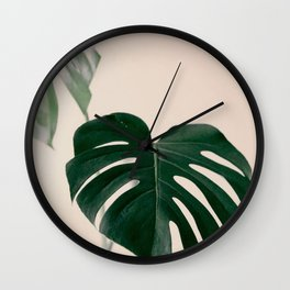 Botanical Vibes VII Wall Clock