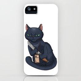 Mad-Cat iPhone Case
