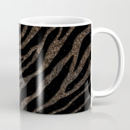 Ripped SpaceTime Stripes - Glitter Brown Coffee Mug