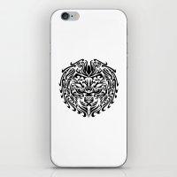 leo iPhone & iPod Skins featuring Leo by Mario Sayavedra