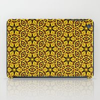 damask iPad Cases featuring vintage damask by clemm
