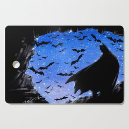 Batmaninthe Batcave Cutting Board