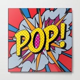 POP Art 5 Metal Print