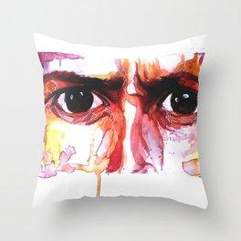 Eyes of Ten  Throw Pillow