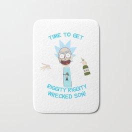 Rick Morty Bath Mat