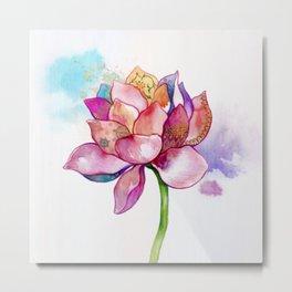 The Sacred Flower Metal Print