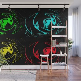 Abstract Perfection 41 Pop Art Wall Mural