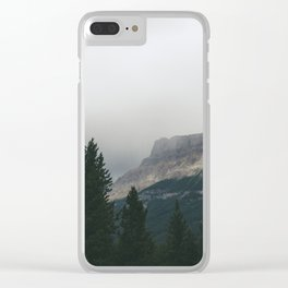 Above the Tree Line pt2 Clear iPhone Case