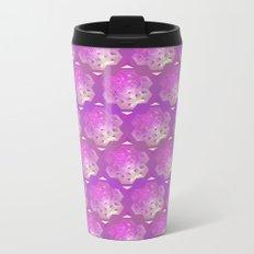 3D geometric shape Metal Travel Mug