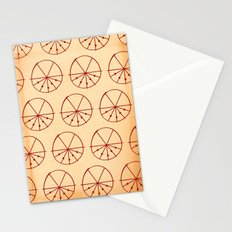 Circle Sections Stationery Cards