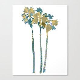 Palm Tree Breezes Canvas Print