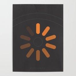 loading eye Poster