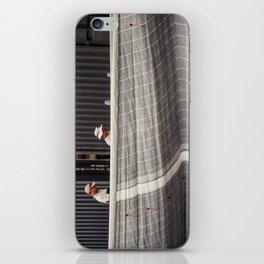 Line Ocean Race iPhone Skin