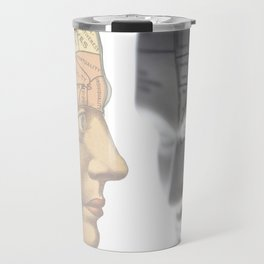 Phrenology | A Picture of Good Health circa 1881 Travel Mug