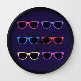 Vintage Sunglasses Wall Clock