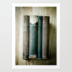 Latin Art Print
