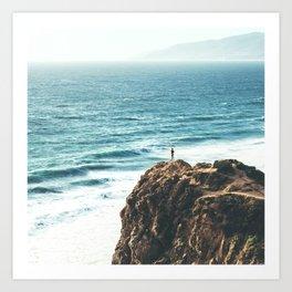 Malibu Coast / California Beach Art Print