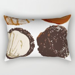 Donuts! Nom Nom Nom! Rectangular Pillow