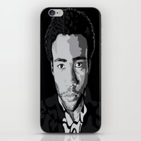 childish gambino iPhone & iPod Skins featuring Gambino by Tecnificent