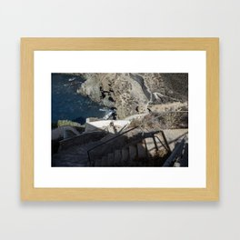 Stairs to Heaven Framed Art Print