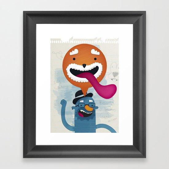 Biscuits & Boobies No. 1 Framed Art Print