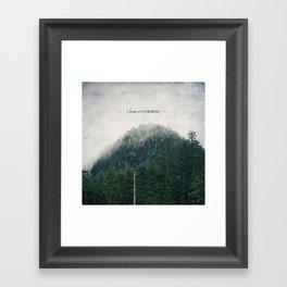 I Dream in Evergreen 2 Framed Art Print