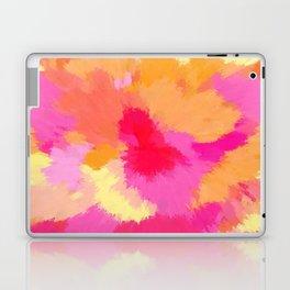 Pink, Orange and Yellow Watercolors Laptop & iPad Skin