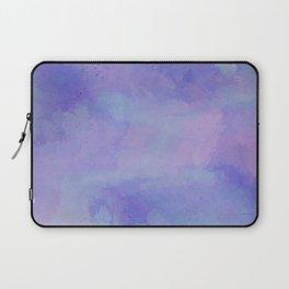 Watercolour Galaxy - Purple Speckled Sky Laptop Sleeve