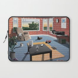 "Hippo Campus - ""Landmark"" Lyrics Laptop Sleeve"
