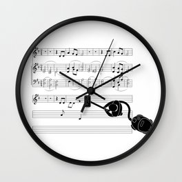 Vacuum sound Wall Clock