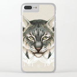 Bobcat Clear iPhone Case