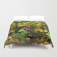mouse Duvet Covers featuring mouse by Lara Paulussen