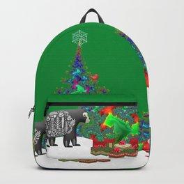 Family Christmas Backpack