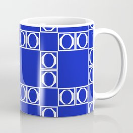 angle blue & yellow Coffee Mug
