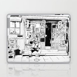 tokyo drinker Laptop & iPad Skin
